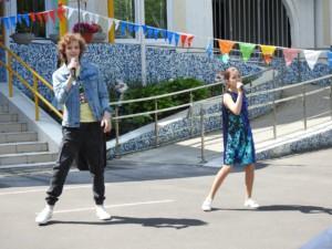 Центр досуга «Ровесник» поздравил с праздником «День защиты детей» ребят из реабилитационного центра района Раменки